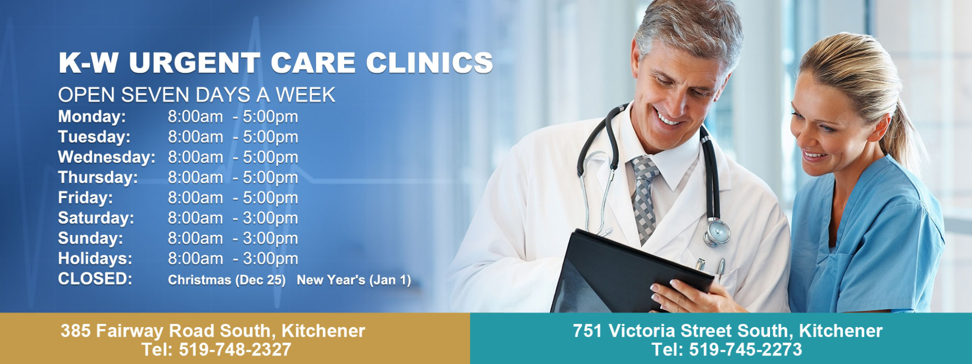 KW Urgent Care Clinics | Walk-in Urgent Care Medical Clinic in Kitchener
